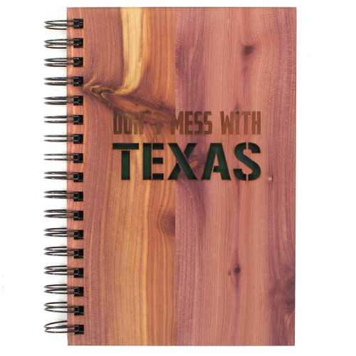 Don't mess with Texas cedar journal