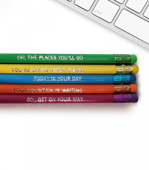 The places you'll go good point pencil set