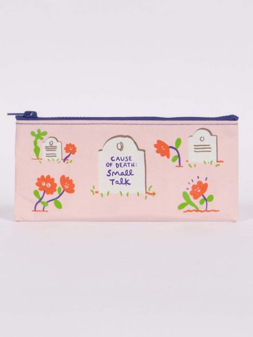 Cause of death pencil bag