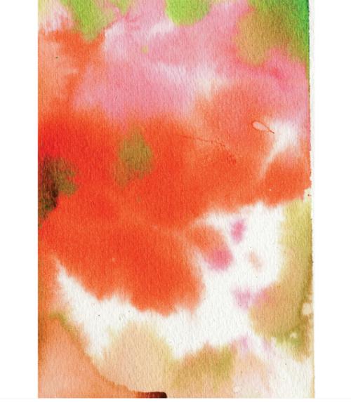 Watercolor triptych Journal