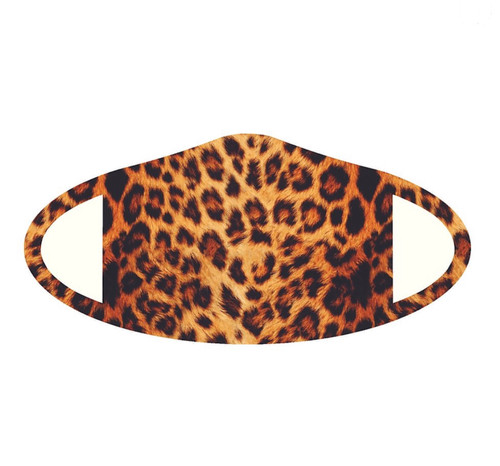 Cheetah print deco face mask