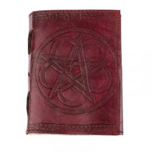 Pentacle leather journal 3.5x5