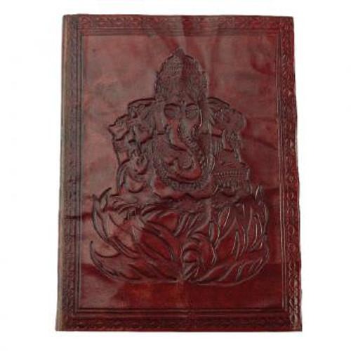Ganesh leather journal 3.5x5