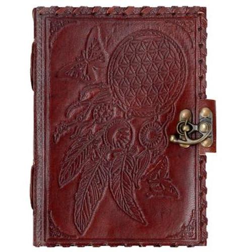 Dreamcatcher leather journal 5x7