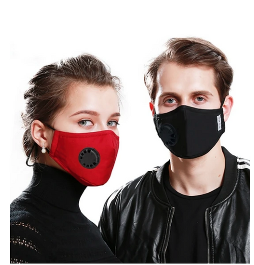Mask for use with carbon filter (not incl)