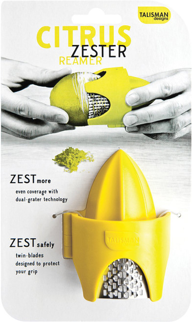 2-in-1 citrus zester/reamer
