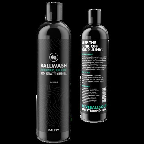 Ballsy ballwash 8 oz