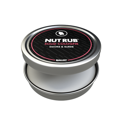 Nut rub smoke & suede solid cologne