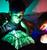 Glow sketch naughts & crosses pillowcase