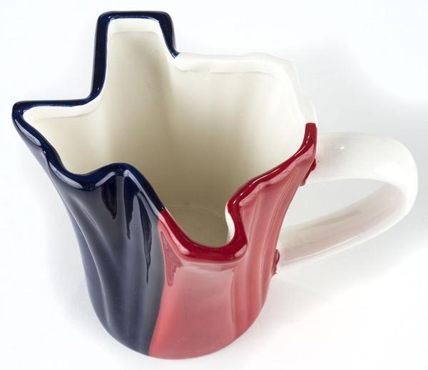 Texas flag mug