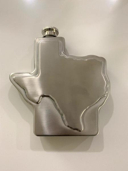 Texas shaped flask