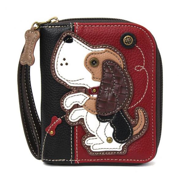 Dog zip around wallet burg