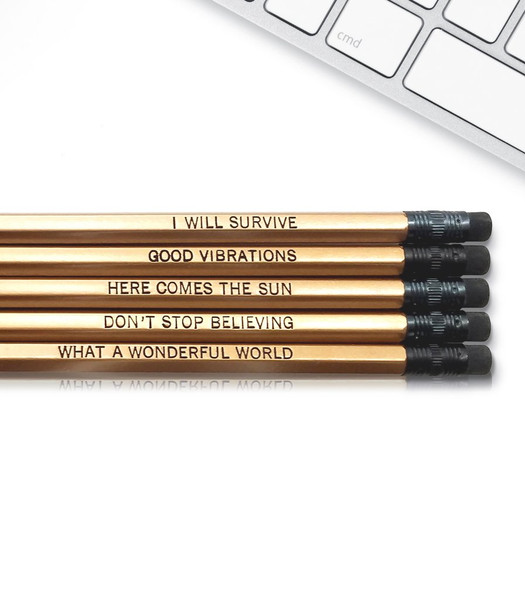 Good point good vibes only pencils