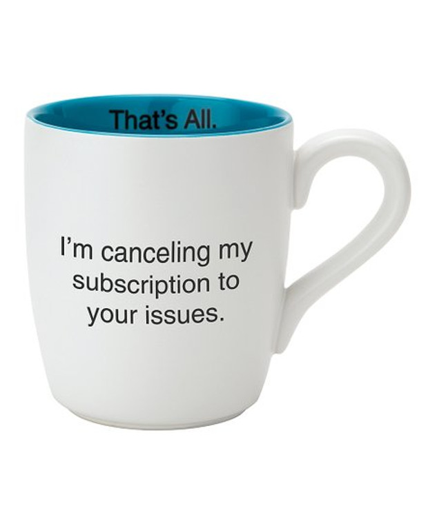 Your issues mug