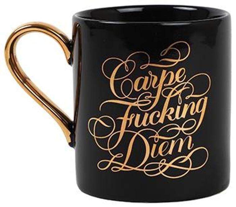Carpe fucking diem mug