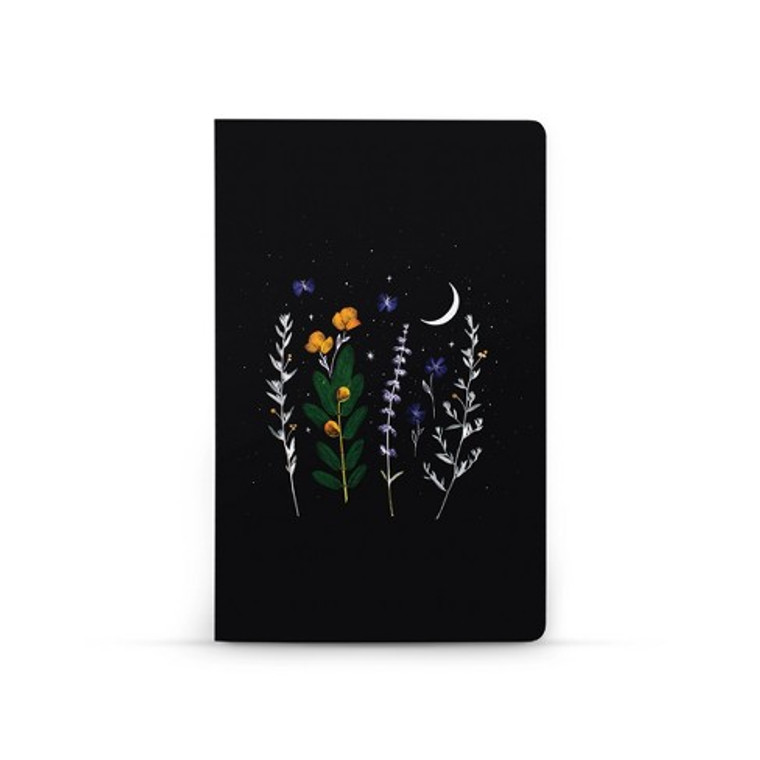 Flowering lay flat journal