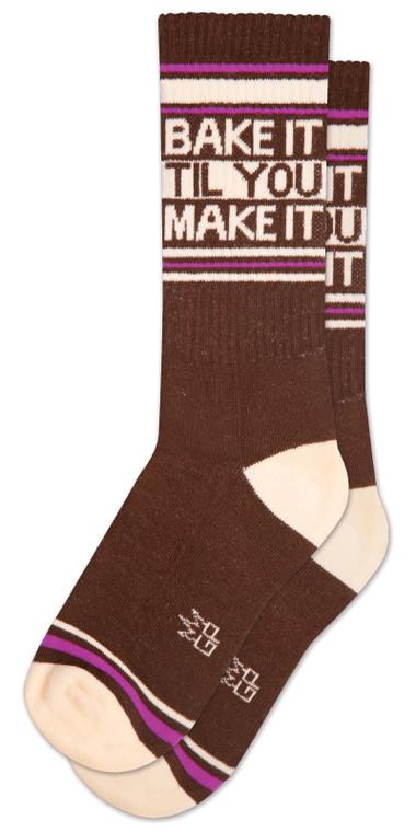 Bake it till you make it socks