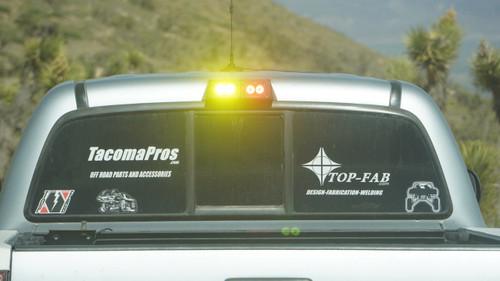 2005 + Tacoma Rear Dust Light Housing for Baja Designs S2 - Single Light