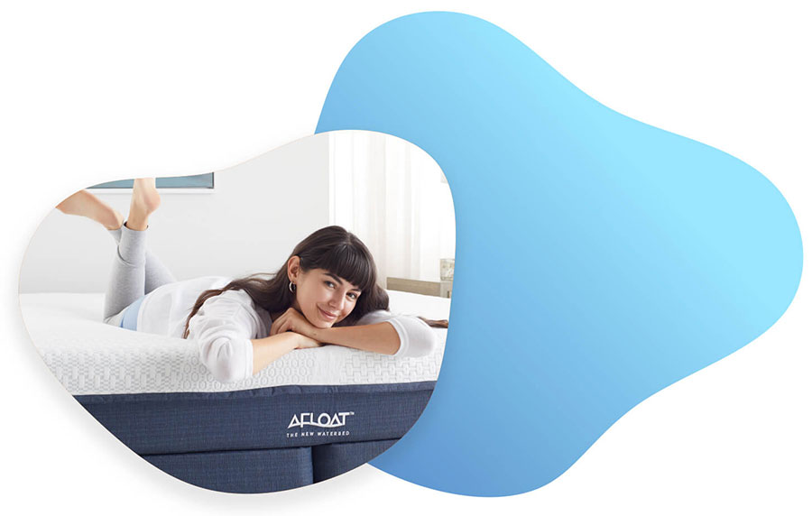 Afloat waterbeds rashape themselves do support the contours of your body.