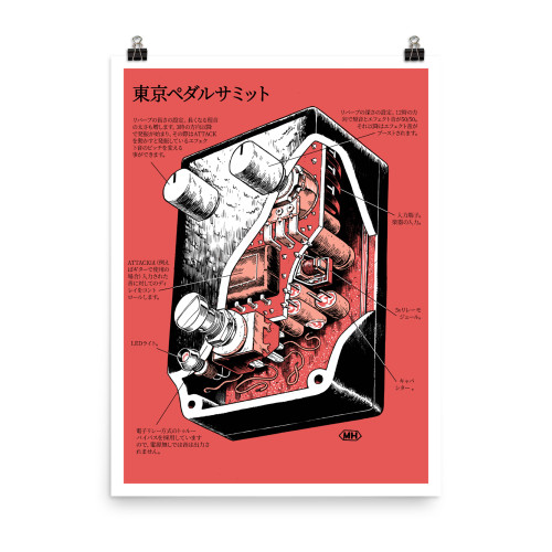 Tokyo Pedal Summit Poster