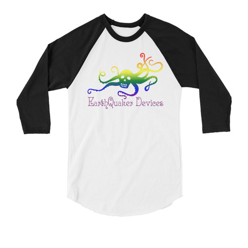3/4 Sleeve OctoSkull Pride Shirt