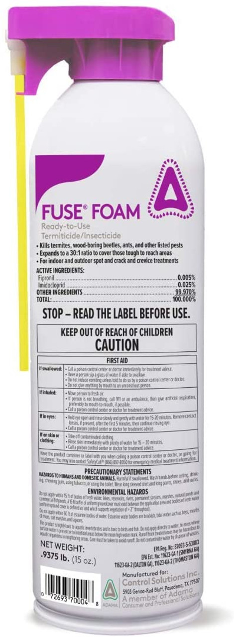 Control Solutions Fuse Foam Ready-to-Use Termiticide Insecticide
