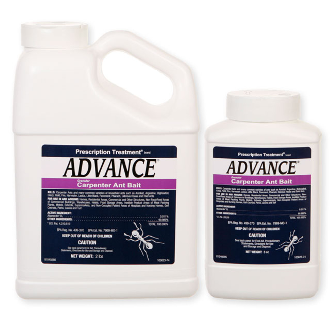 ADVANCE CARPENTER ANT GRANULAR BAIT IS THE #1 CARPENTER ANT BAIT