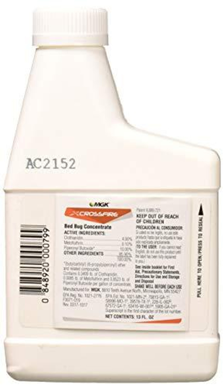 Crossfire Bed Bug Concentrate 13oz