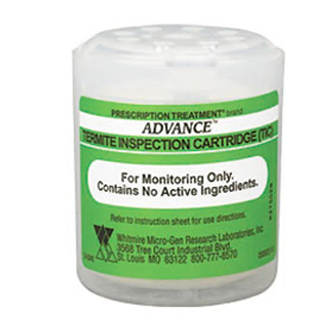 Advance termite inspection cartridge