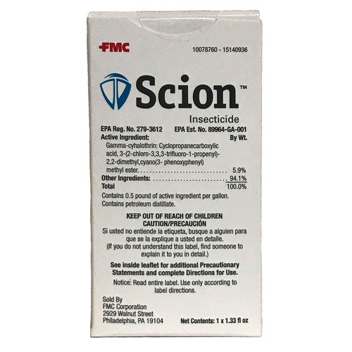 Scion Insecticide with UVX Technology