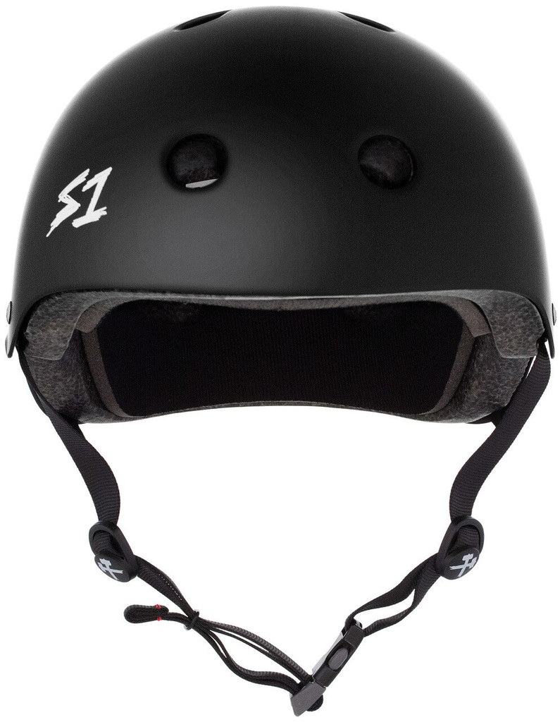 S1 Mega Lifer Helmet - Black Matte