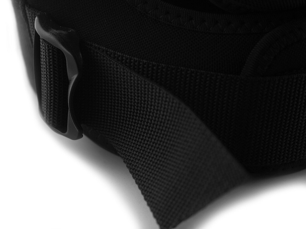 Bottom cinch strap provides a secure, tight base to your knee pad