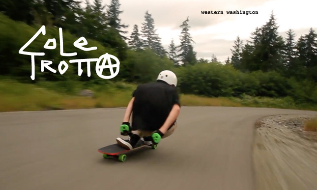 Cole Trotta / Downhill Skateboarding / Western Washington