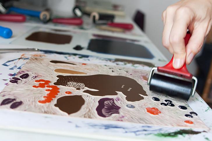 Olga's Bear Print