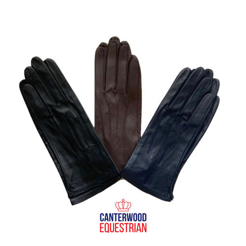 Canterwood Supreme Leather Gloves Childs