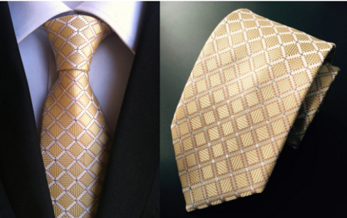 Gold Sparkle Tie
