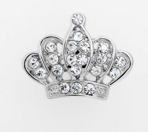 Bling Crown Pin