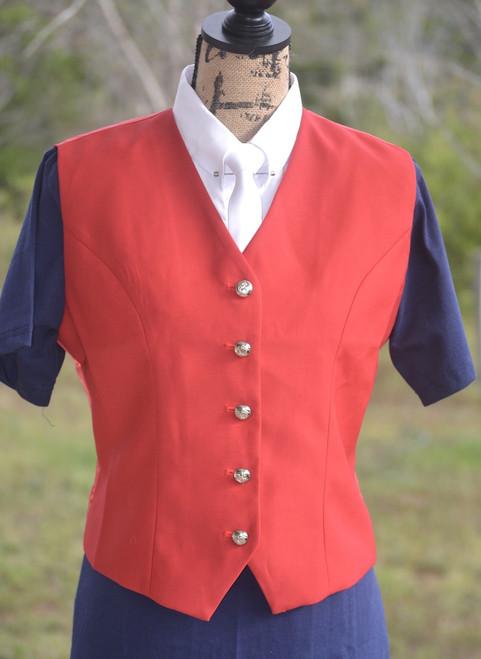 Red Show Vest