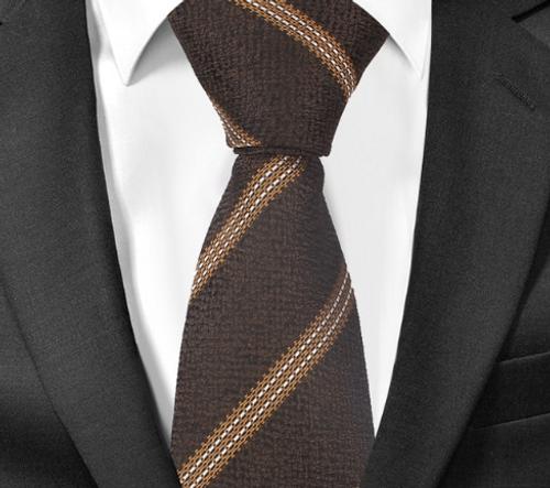 Brown Hunter Tie
