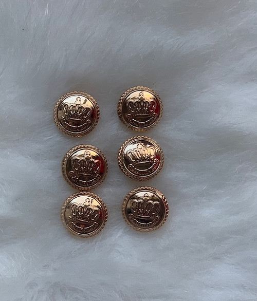 Canterwood Gold Crown Buttons