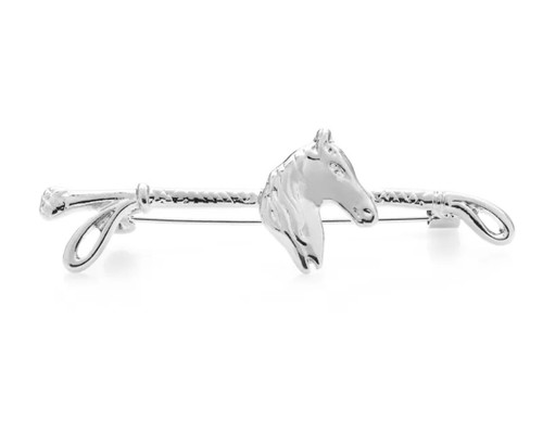 Horse Head Tie Bar