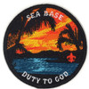 Duty To God Sunset 3 Round A-B Emblem