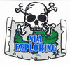 Sticker Sea Exploring Adventure Outfitters