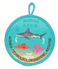 Stem Patch Shark Fish Coral A-B Emblem