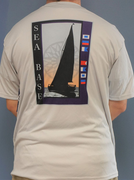 Compass Sailboat Ss Gray Xl  Adventure Outfitters