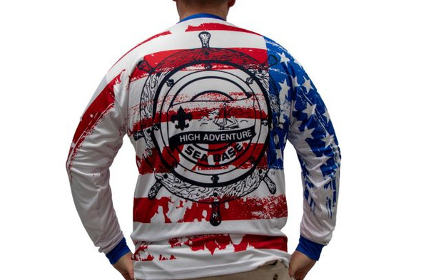 Rwb Sublimated Ls Power-Tek