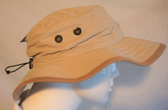 Bucket Hat W/ Shipwheel Logo Hintz Targeted