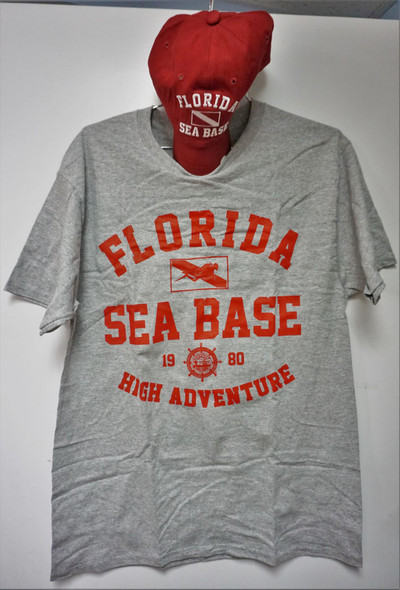 Cap & Tee Nu Dive Adventure Outfitters