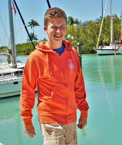 Sweatshirt Compass Zipper Isaac's Designs