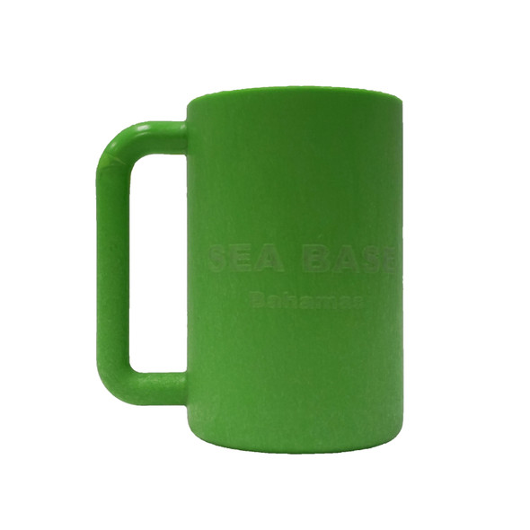 Brandable Mug Bahamas Lime Green
